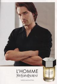 Постер Yves Saint Laurent L'Homme