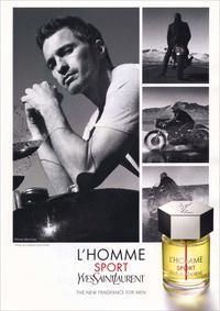 Постер Yves Saint Laurent L'Homme Sport