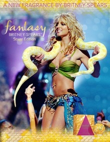 Постер Fantasy Britney Spears : The Stage Edition 2014
