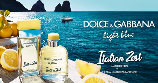 Постер Dolce&Gabbana Light Blue Italian Zest