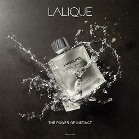 Постер Lalique L'Insoumis Ma Force