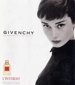 Постер Givenchy L`Interdit 1957