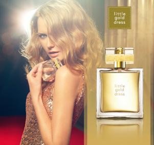 Постер Avon Little Gold Dress
