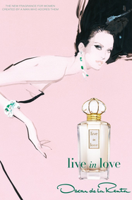 Постер Oscar de la Renta Live in Love
