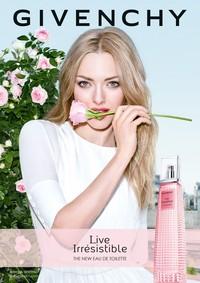 Постер Givenchy Live Irresistible Eau de Toilette