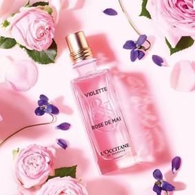 Постер L`Occitane Violette & Rose De Mai