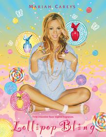 Постер Mariah Carey Lollipop Bling Mine Again
