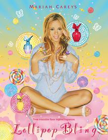 Постер Mariah Carey Lollipop Bling Ribbon