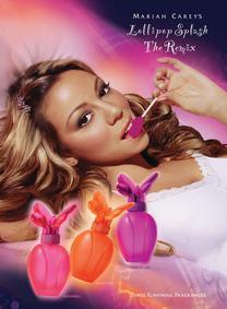 Постер Mariah Carey Lollipop Splash Never Forget You