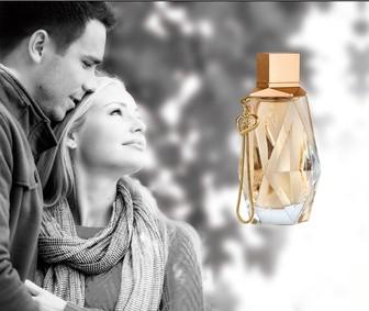 Постер Lonkoom Parfum Pure Love Gold