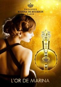 Постер Princesse Marina De Bourbon L'Or de Marina