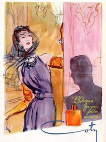 Постер Coty L`Origan