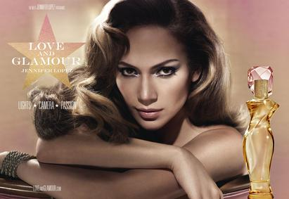 Постер Jennifer Lopez Love And Glamour