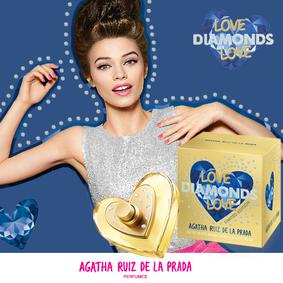 Постер Agatha Ruiz de la Prada Love Diamonds Love