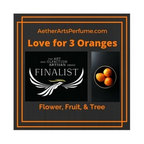 Постер Aether Arts Perfume Love For 3 Oranges: Flower, Fruit & Tree