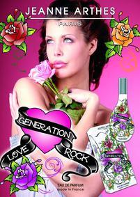Постер Jeanne Arthes Love Generation Rock