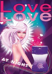 Постер Parfums Love Love Love Love At Night