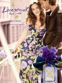 Постер Vera Wang Lovestruck Floral Rush