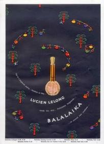 Постер Lucien Lelong Balalaika