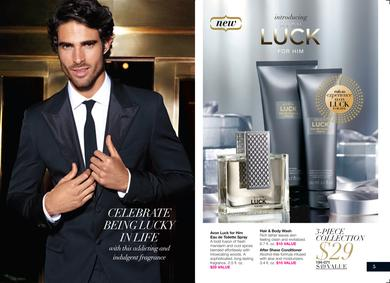 Постер Avon Luck For Him