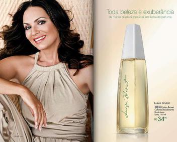 Постер Avon Luiza Brunet