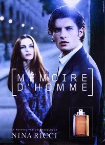 Постер Nina Ricci Mémoire d'Homme