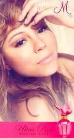 Постер Mariah Carey M Ultra Pink