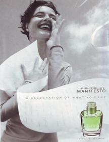 Постер Isabella Rossellini Manifesto