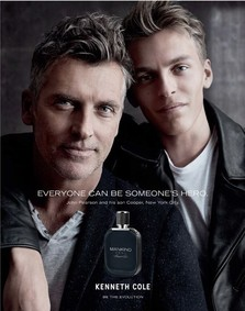 Постер Kenneth Cole Mankind Hero