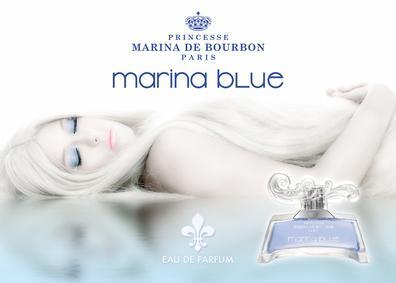 Постер Princesse Marina De Bourbon Marina Blue