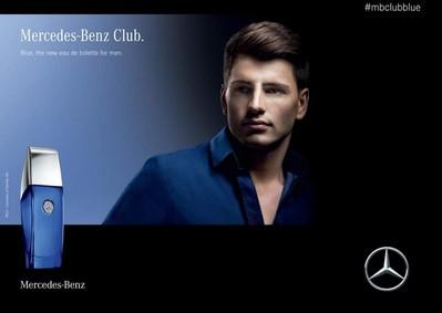 Постер Mercedes-Benz Club Blue