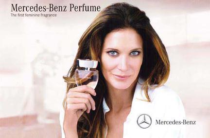 Постер Mercedes-Benz Woman