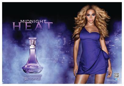 Постер Beyonce Midnight Heat