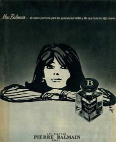 Постер Miss Balmain