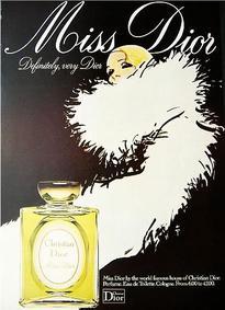 Постер Miss Dior 1947