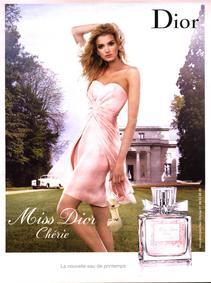 Постер Miss Dior Chérie Eau De Printemps