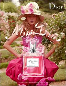 Постер Miss Dior Chérie Eau de Toilette