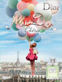 Постер Miss Dior Chérie L'eau