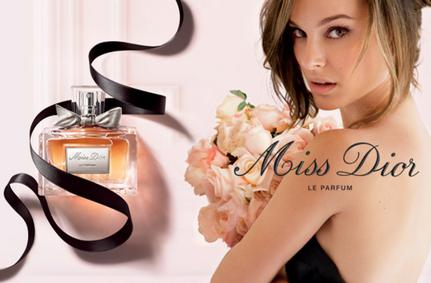 Постер Miss Dior Le Parfum