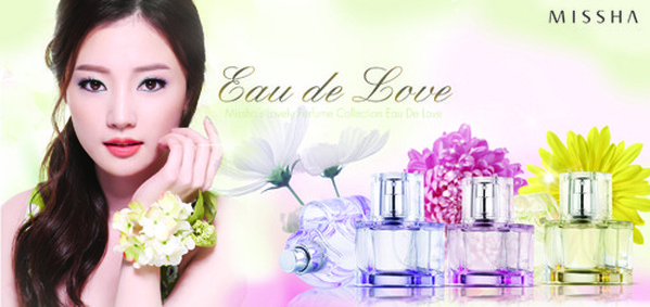 Постер Missha Eau De Love At First