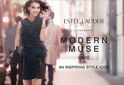 Постер Estee Lauder Modern Muse Chic