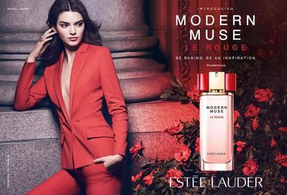 Постер Estee Lauder Modern Muse Le Rouge