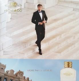 Постер Monaco Parfums Man