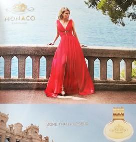 Постер Monaco Parfums Woman