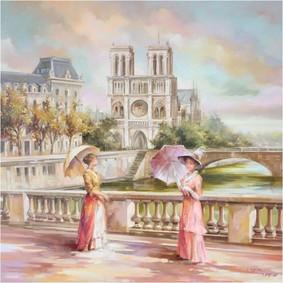 Постер Monart Parfums Sous Le Ciel De Paris