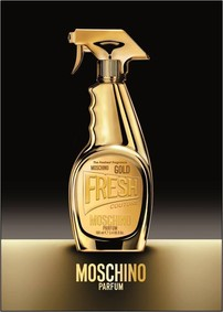 Постер Moschino Gold Fresh Couture