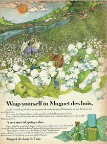 Постер Coty Muguet de Bois