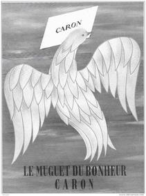 Постер Caron Muguet du Bonheur