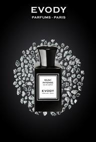 Постер Evody Parfums Musc Intense
