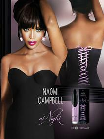 Постер Naomi Campbell At Night